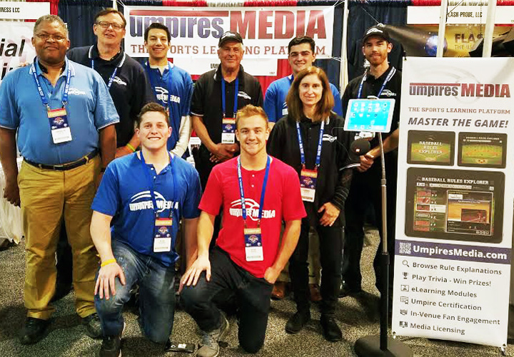 Umpires Media Team at the Baseball Winter Meetings 2016